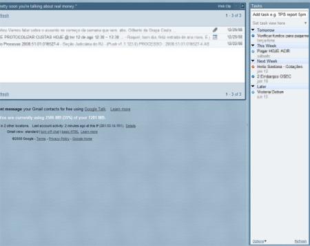 Extensão RTM para o Firefox/Gmail, à direita e mais completa.